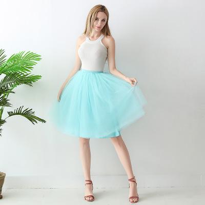 TUTU tylová sukně dámská - tyrkysová 65 cm