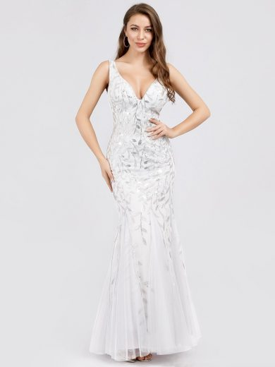 Společenské šaty Ever-Pretty EP07886WH White