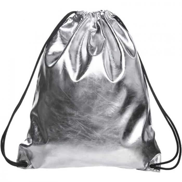 Who cares metalický stříbrný vak  Timy F58423SM