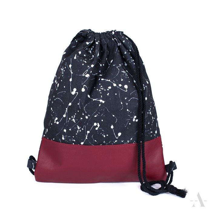 ArtOfPolo stahovací Plátěný vak Černý Artofpolo FAtr18178SS04