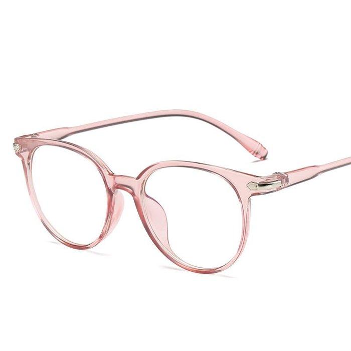 Brýle blokující modré světlo bez dioptrii Eye-care Růžové Wayfarer style 181105093521ss2