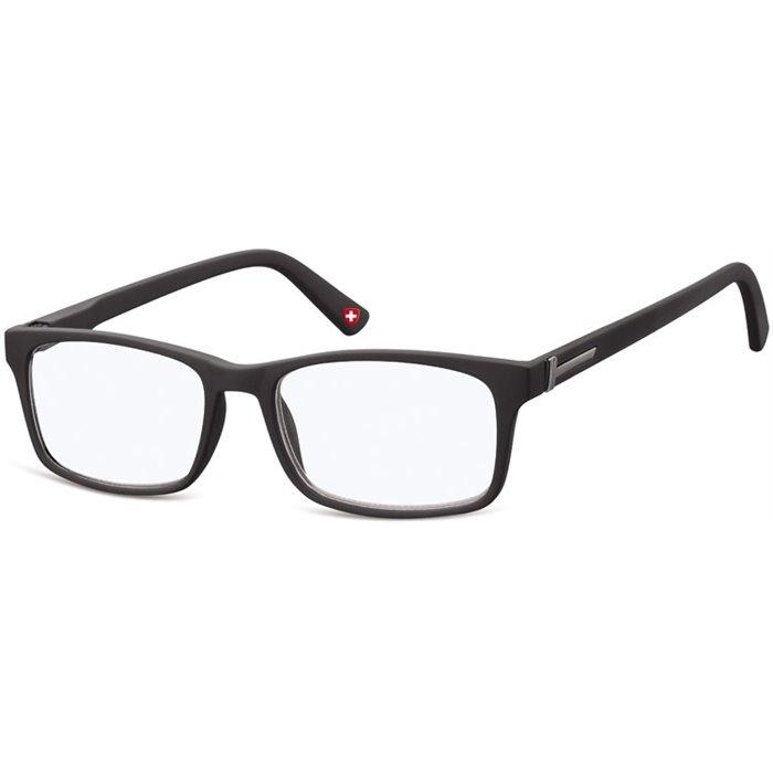 Brýle blokující modré světlo na počítač bez dioptrii MX73 černé Montana BLFBOX73