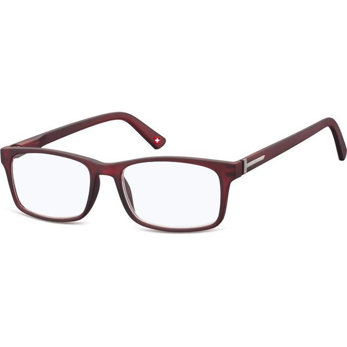 Brýle blokující modré světlo na počítač bez dioptrii MX73C červené Montana BLFBOX73C