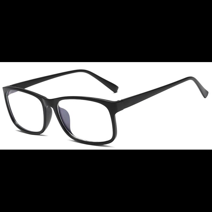 Brýle blokující modré světlo na počítač C8012 Černé Wayfarer style 8012-BC