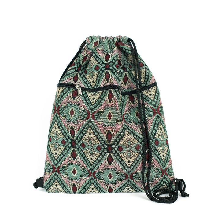 Eastern carpet stahovací batoh Etno zelený Artofpolo FAtr20219ss02