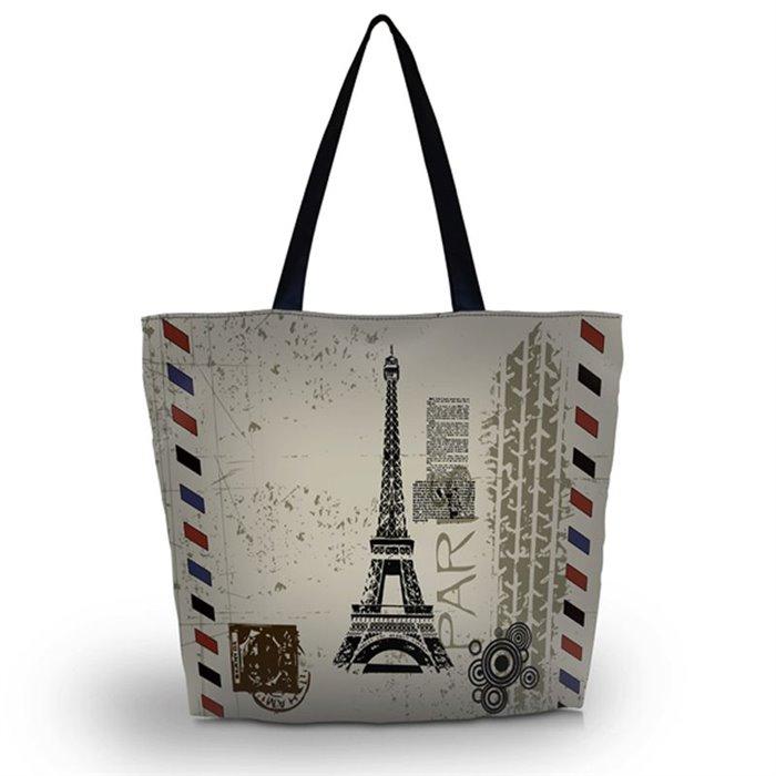 Huado nákupní a plážová taška - Paříž Huado GW-18319