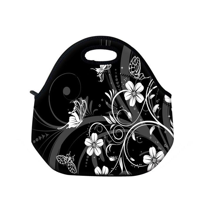 Huado termotaška z neoprénu- Květiny a motýlci Huado TER-15231