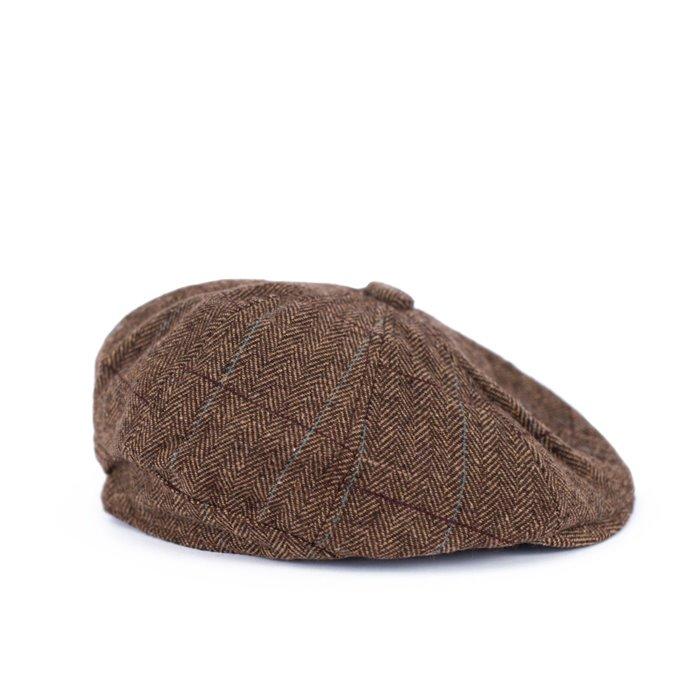 Baret Peaky blinders Hnědý Artofpolo FAcz19421ss1