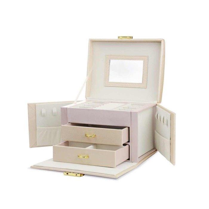 Elen kufřík na šperky šperkovnice Béžová BMD CARPD102R