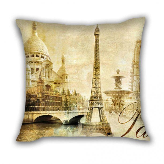 Huado dekorační povlak na polštář 45x45 Paris Vintage Huado PLW-7065