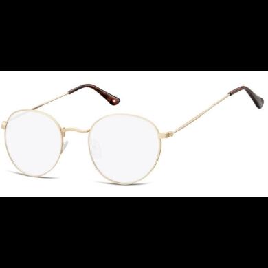 Dioptrické brýle na počítač Anti Blue Oval F54A zlaté Lifestyle SOHBLF54A