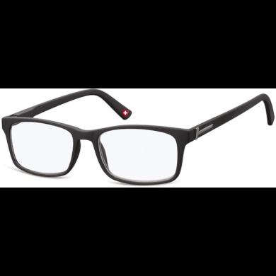 Dioptrické brýle na počítač Anti Blue MX73 černé Montana BLFBOX73