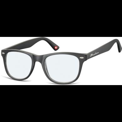 Dioptrické brýle na počítač Anti Blue MX67 černé Montana BLFBOX67