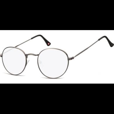 Dioptrické brýle na počítač Anti Blue Oval F54 Černé Lifestyle SOHBLF54