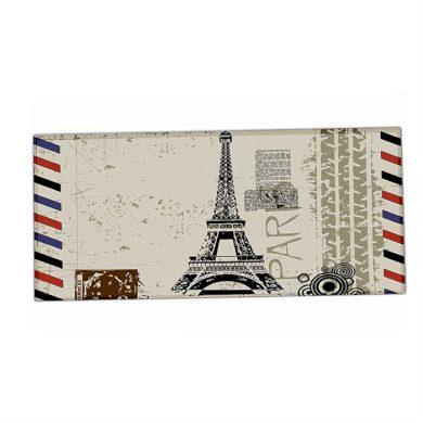 HUADO podložka na stůl 90 cm x 40 cm Eiffelova věž Huado XM-18319