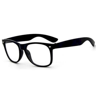 Nedioptrické brýle wayfarer černé  Wayfarer style F002