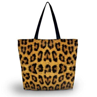 Huado nákupní a plážová taška - Leopard Huado GW-691
