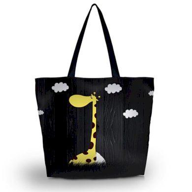 Huado nákupní a plážová taška - Žirafa Huado GW-18297