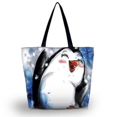 Huado nákupní a plážová taška - Tučňák Huado GW-15941