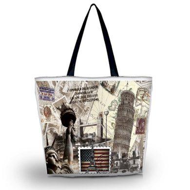 Huado nákupní a plážová taška - Travel King Huado GW-62748