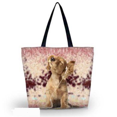 Huado nákupní a plážová taška - kokršpaněl Huado GW-002