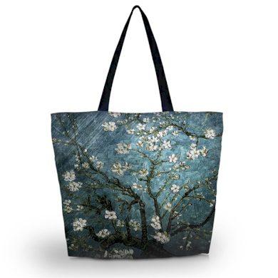 Huado nákupní a plážová taška - Modrá třešeň Huado GW-64082