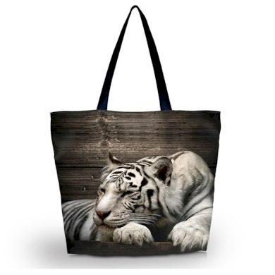 Huado nákupní a plážová taška - Tygr sibiřský Huado GW-25428