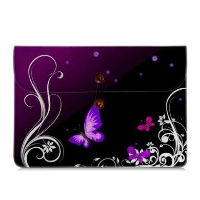 Huado pouzdro na ultrabook a dokumenty Purpuroví motýlci Huado FB-15600