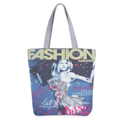 Nákupní taška s nápisem FASHION Lifestyle OPARI476