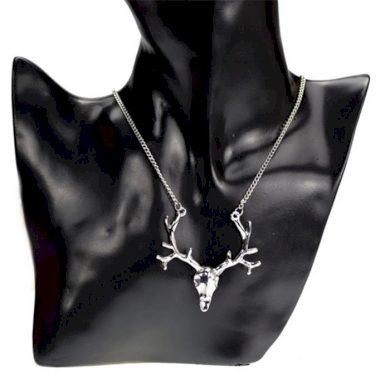 Přívěšek s řetízkem Deer Skull Lodestar DS4147