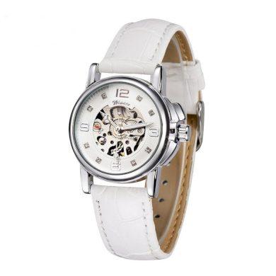 Dámské automatické hodinky Winner Elyse -bílé Winner WRL8011M3S10