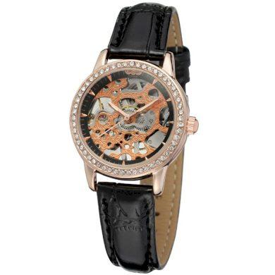 Dámské hodinky Winner Charisma - zlaté Winner RL8103M3R2