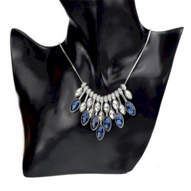 Elegantní choker náhrdelník Blue tears Lodestar TRS1574