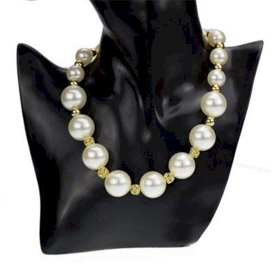 Perlový náhrdelník se zirkony Deborah Lodestar PRL86ER