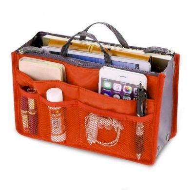 Organizér do kabelky oranžový Cixi F1357OR