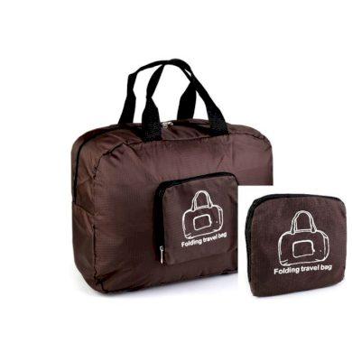 Cestovní skládací taška Travel Hnědá Allepaznokcie F720981SS01