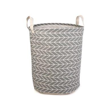 Plátěný koš na prádlo šedý 42L Huado F750831SS02