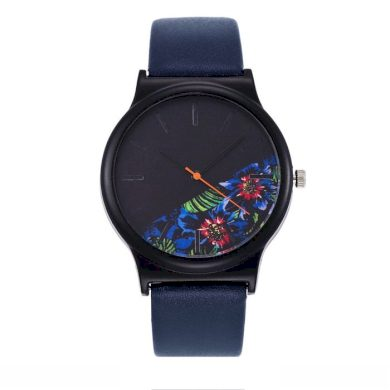Dámské hodinky Dark Floral Shim Watch F63DF15