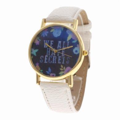 Dámské květinové hodinky Secrets Shim Watch F63DFSC