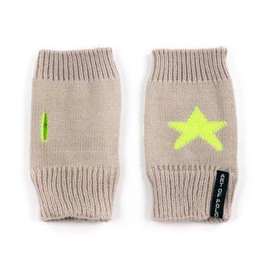 ArtOfPolo krátké rukavice bez prstů Star Hnědé Artofpolo FArk13419ss05