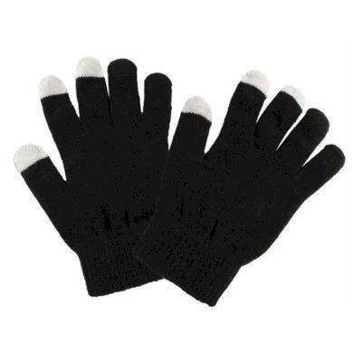 Rukavice na dotykový displej Černé Artofpolo FI4356