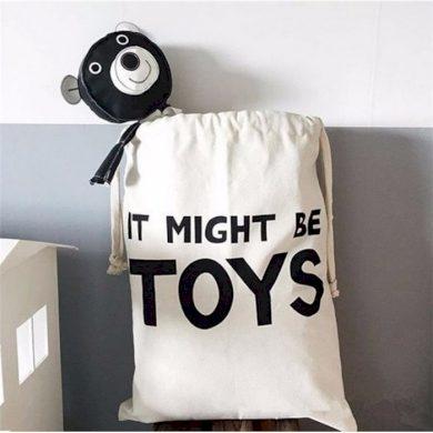 Bavlněný vak na hračky a prádlo Toys Lifestyle CAROR3WZ6