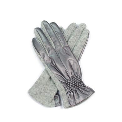 ArtOfPolo Vlněné rukavice s lemem  FArk14318ss01