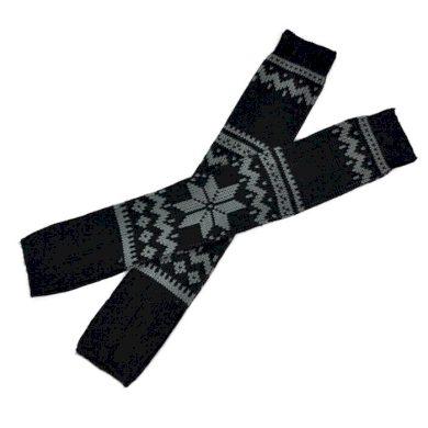 Pletené návleky na boty norská hvězda 57 cm  FAsk0204