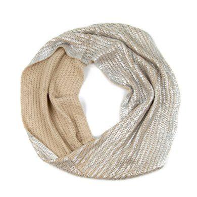 ArtOfPolo kruhový pletený šál komín Postříbren Artofpolo FAsz13322ss01