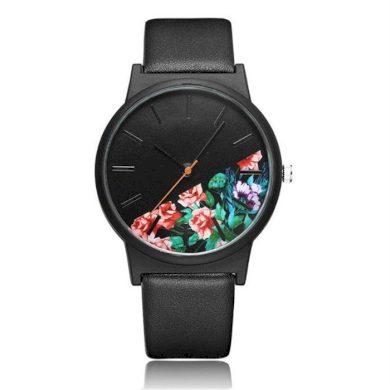 Dámské hodinky Dark Floral Černý Shim Watch CARZ630
