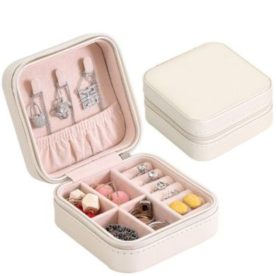Malý Box na šperky Emily Krémová BMD CARPD74B