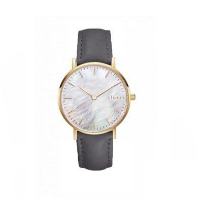 Classy dámské hodinky s opálovým odleskem Šedé Shim Watch CARZ669GRAF