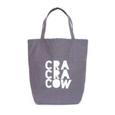 Shopper nákupní taška Cracow City šedá Carla ARTtr18236ss01
