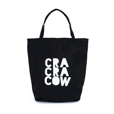Shopper nákupní taška Cracow City Černá Carla ARTtr18236ss02